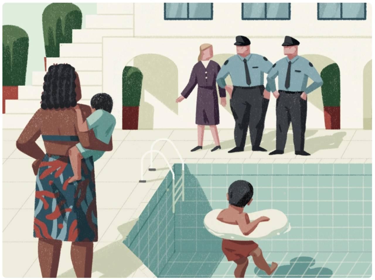 Trendy w ilustracjach: discrimination