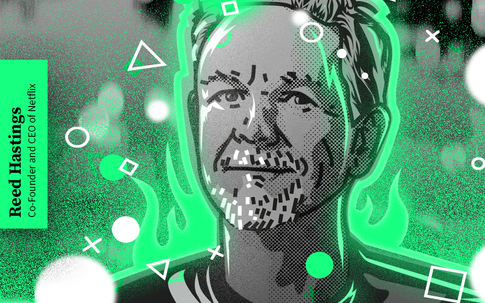 Reed Hastings w GreenLetter